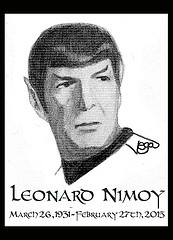 """Leonard Nimoy RIP"" © Laurel L. Russworm"