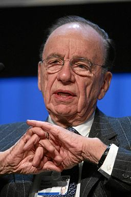 Rupert Murdoch (2007) © World Economic Forum; Creative Commons license