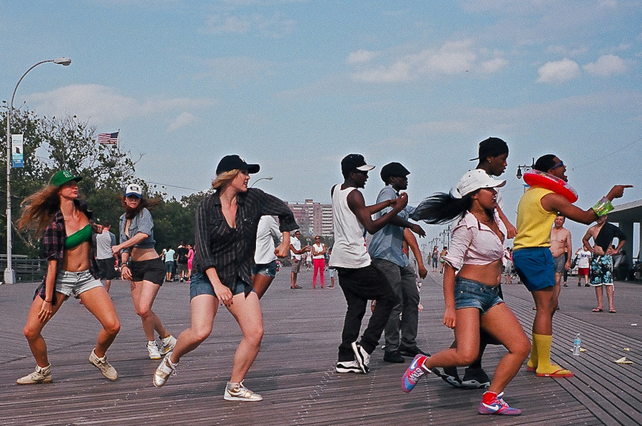 """Boardwalk Dance"" © Reuben Radding; used with permission"