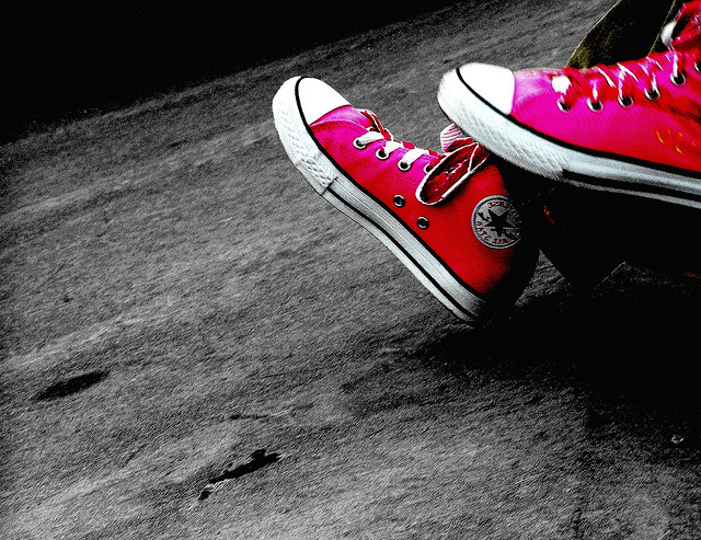 """Edgy Pink"" © Pink Sherbet Photography; Creative Commons license"