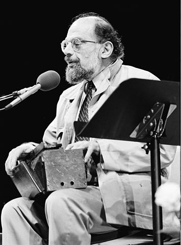"""""""Allen Ginsberg"""" © MDCArchives"""