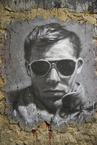 """Hunter S. Thompson Portrait"" © Thierry Ehrmann; CC License"
