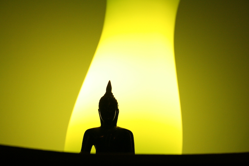"""Buddah and Light"" © Mátyás Huszár"
