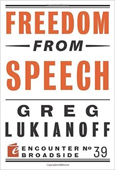Freedom from Speech book cover