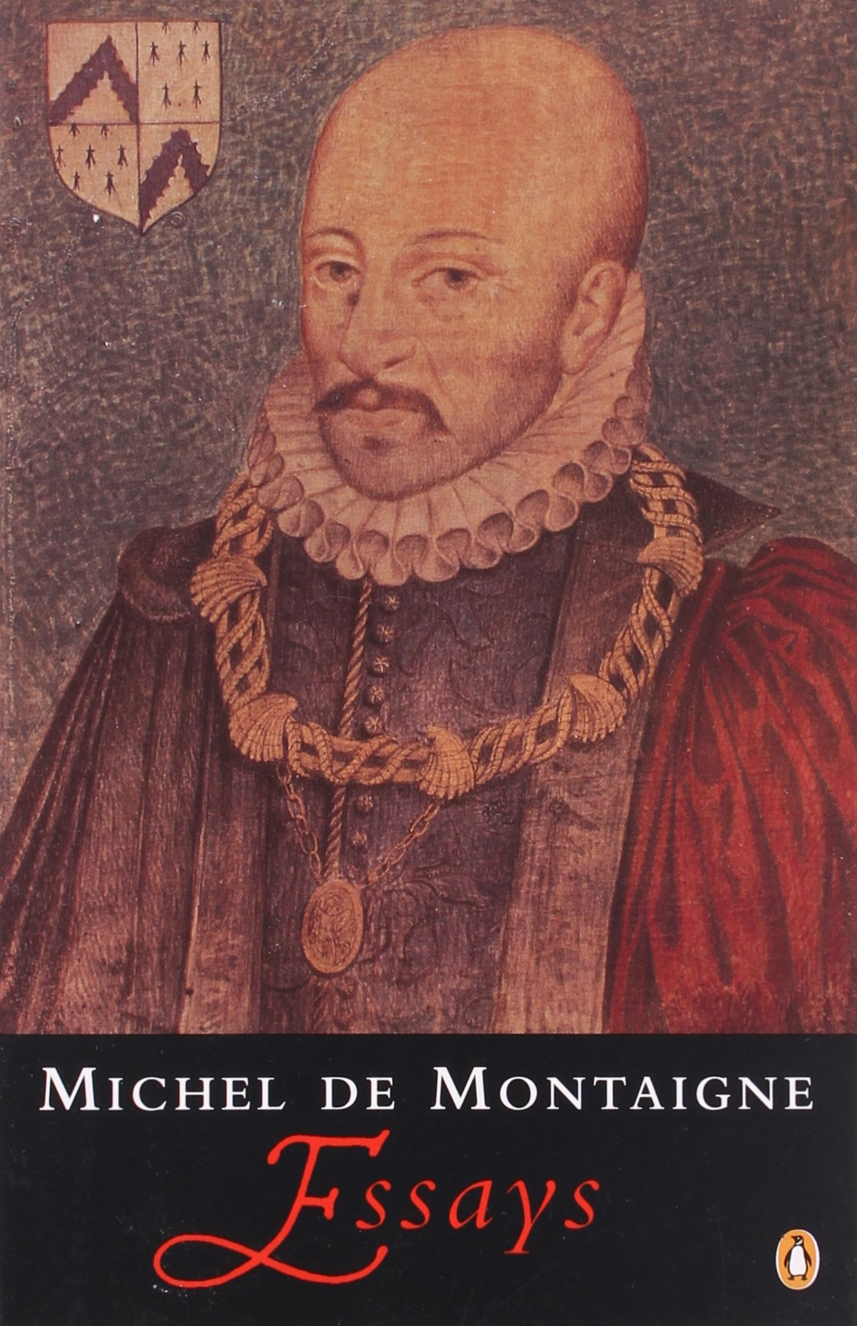 "cover from ""Michel de Montaigne: The Complete Essays"" (Penguin)"