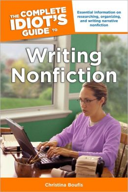 The Complete Idiot's Guide to Writing Nonfiction book cover