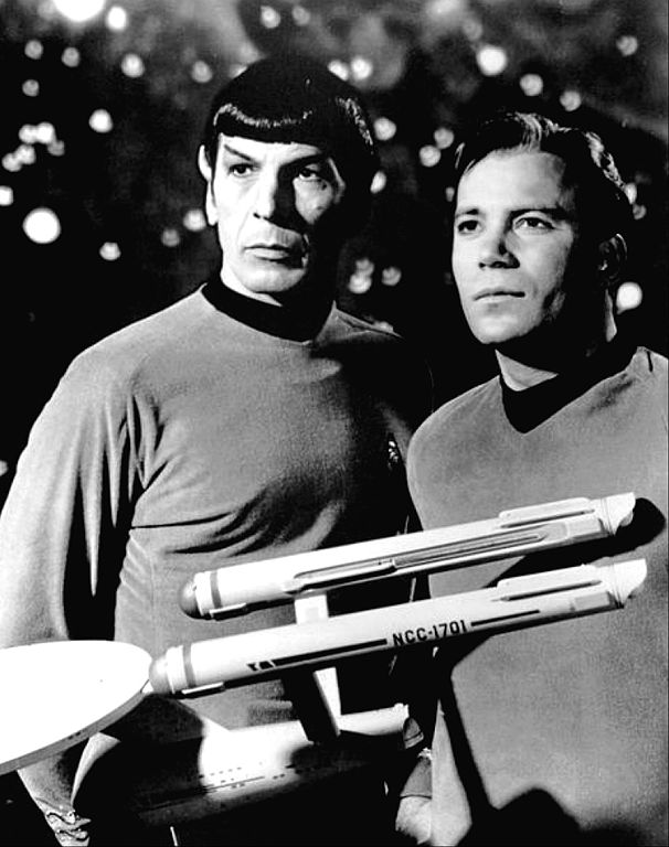 Leonard Nimoy and William Shatner (1968); NBC publicity photo