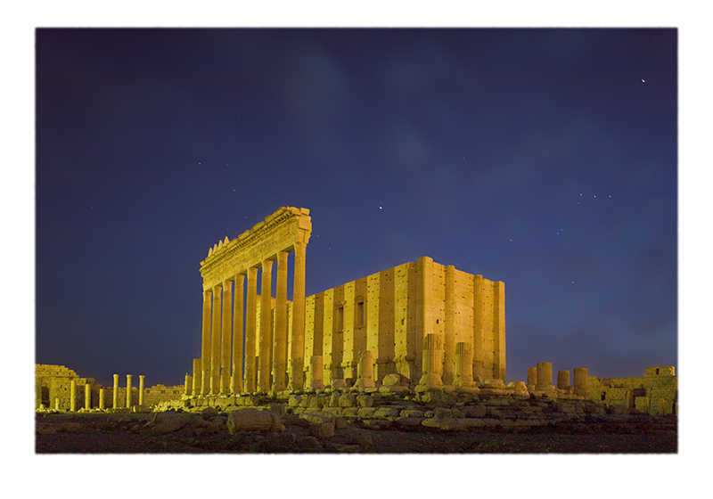 """Temple of Baal, Starry Sky"" © Saïd Nuseibeh; used by permission"