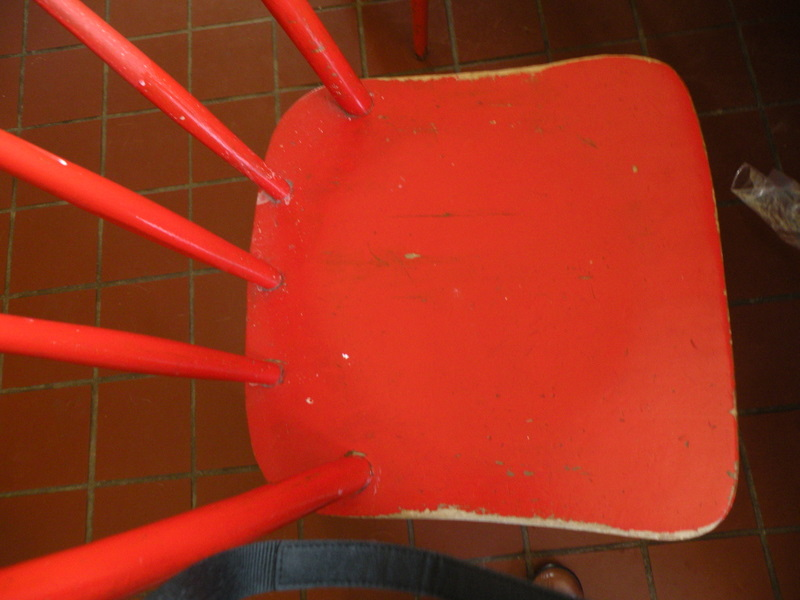 """Red Chair"" © K. Carlton Johnson; used by permission"