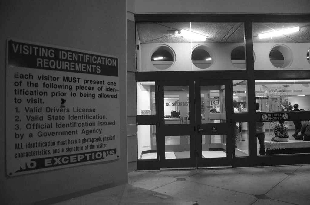 """Occupy Oakland at Santa Rita Jail's Front Door"" © Daniel Arauz; Creative Commons license"