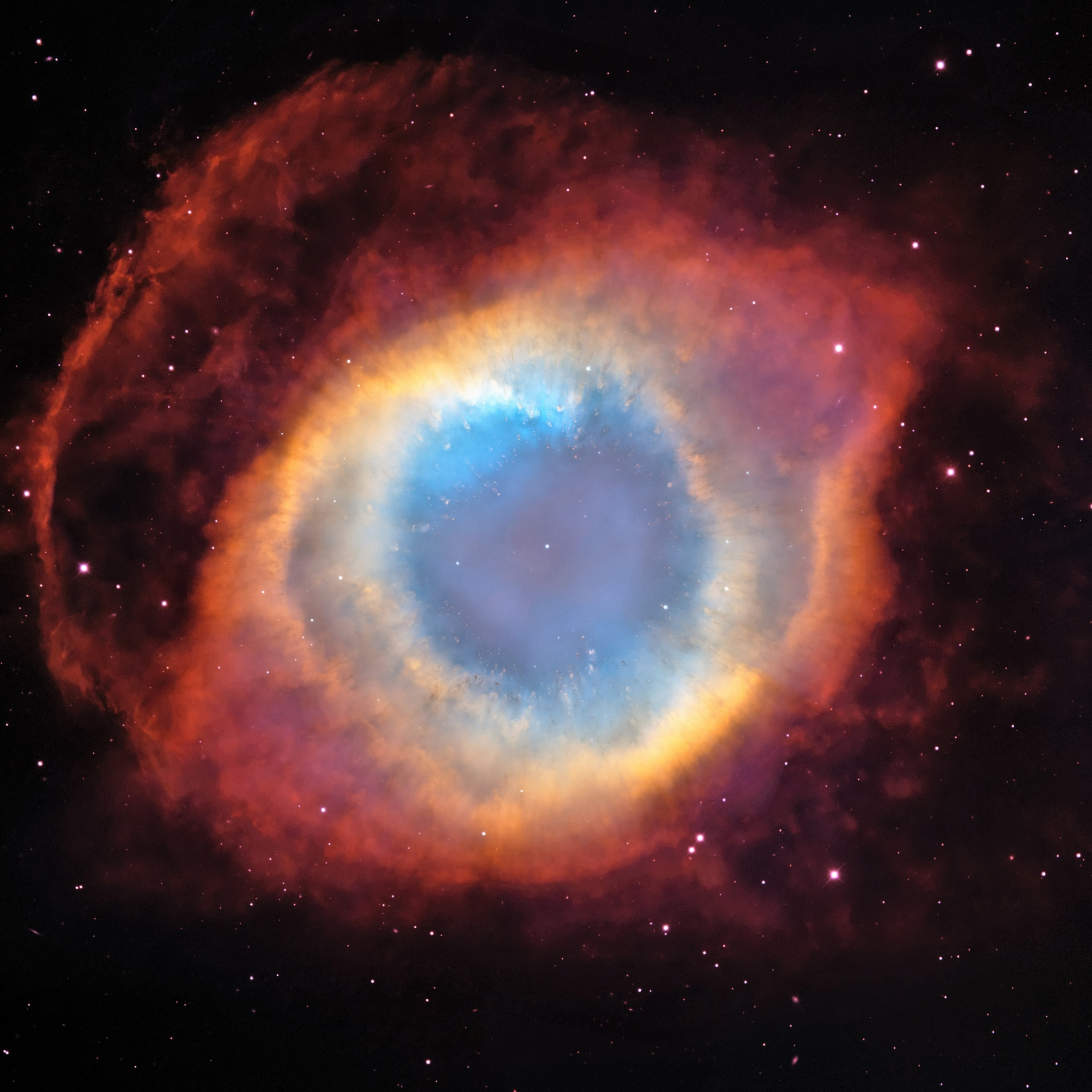 """The Eye of God"" taken by the Hubble Telescope; public domain"
