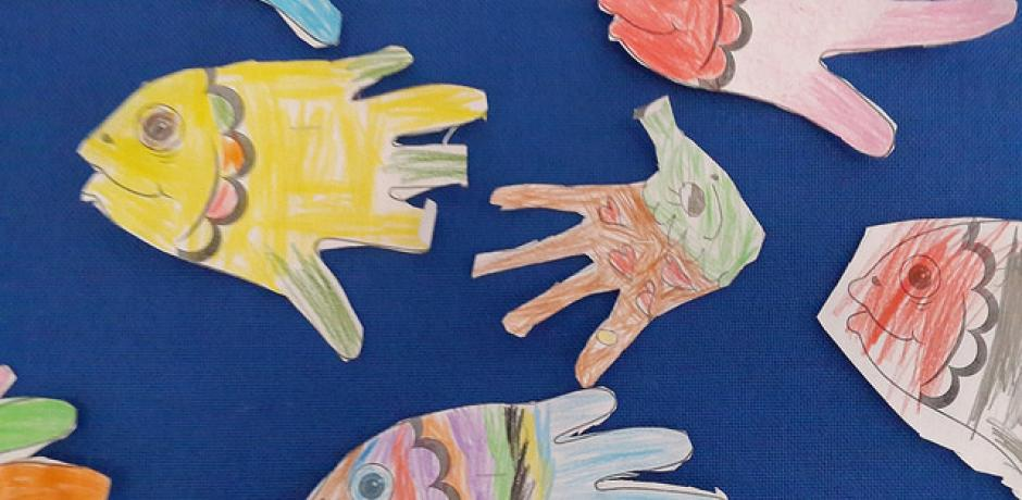 """Handprint Fish"" © Denise Krebs; Creative Commons license"