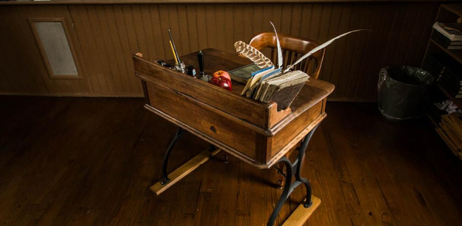 """Teacher's Desk"" © Todd Petrie"