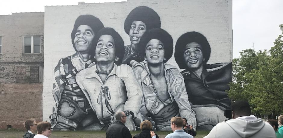 """Jackson Five Mural by Felix Maldonado"" © Joseph S. Pete; used by permission"