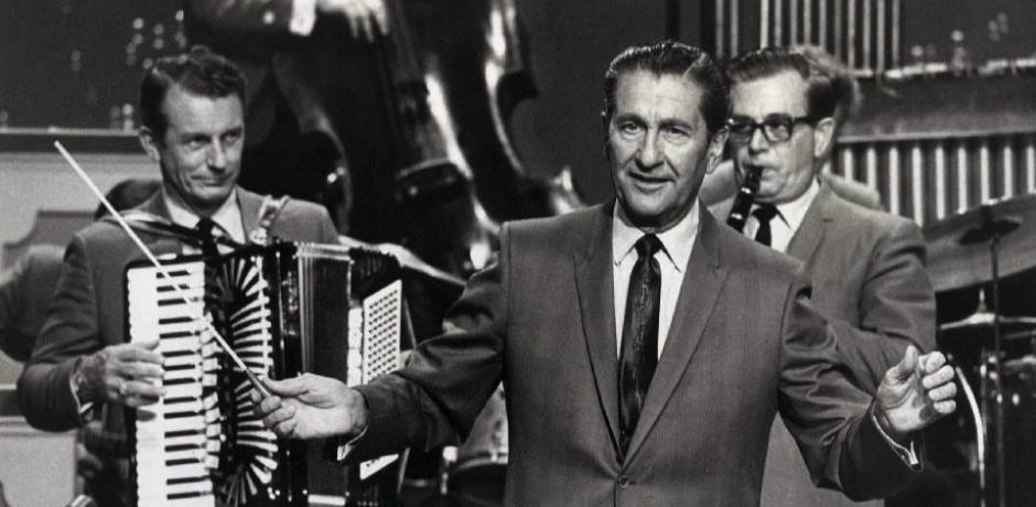 The Lawrence Welk Show publicity photo;public domain