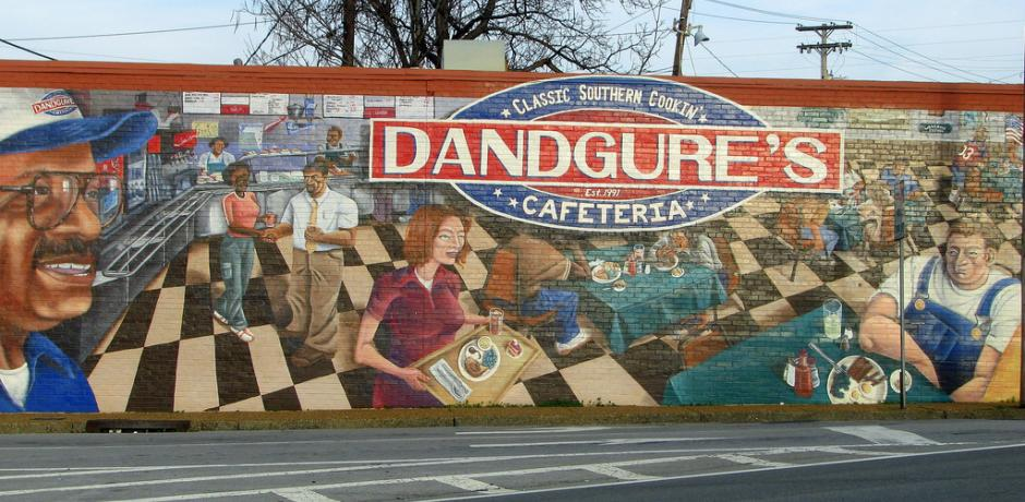 """Dandgure's Cafeteria Mural"" © Brent Moore; Creative Commons license"