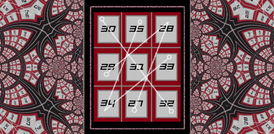"""Thelemic Magic Square"" © Kyla Clay; Creative Commons license"