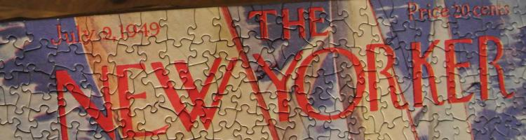 """New Yorker Puzzle 1"" © JoeAnn Hart; used with permission"