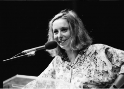 photo of Ann Beattie in 1986 from Miami Dade College Archives