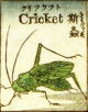 Japanese woodcut of cricket