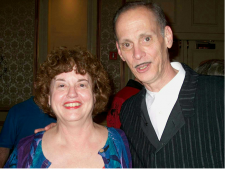 Emily Toth with John Waters, 2007  ©  Bruce Toth