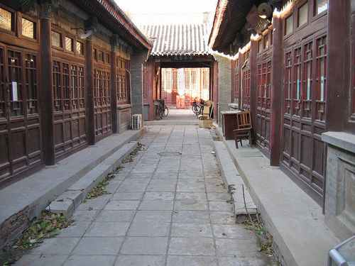 Alleyway in Tianjin