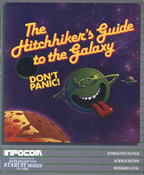 Hitchhikers Guide to the Galaxy cover