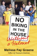 no biking in the house book cover